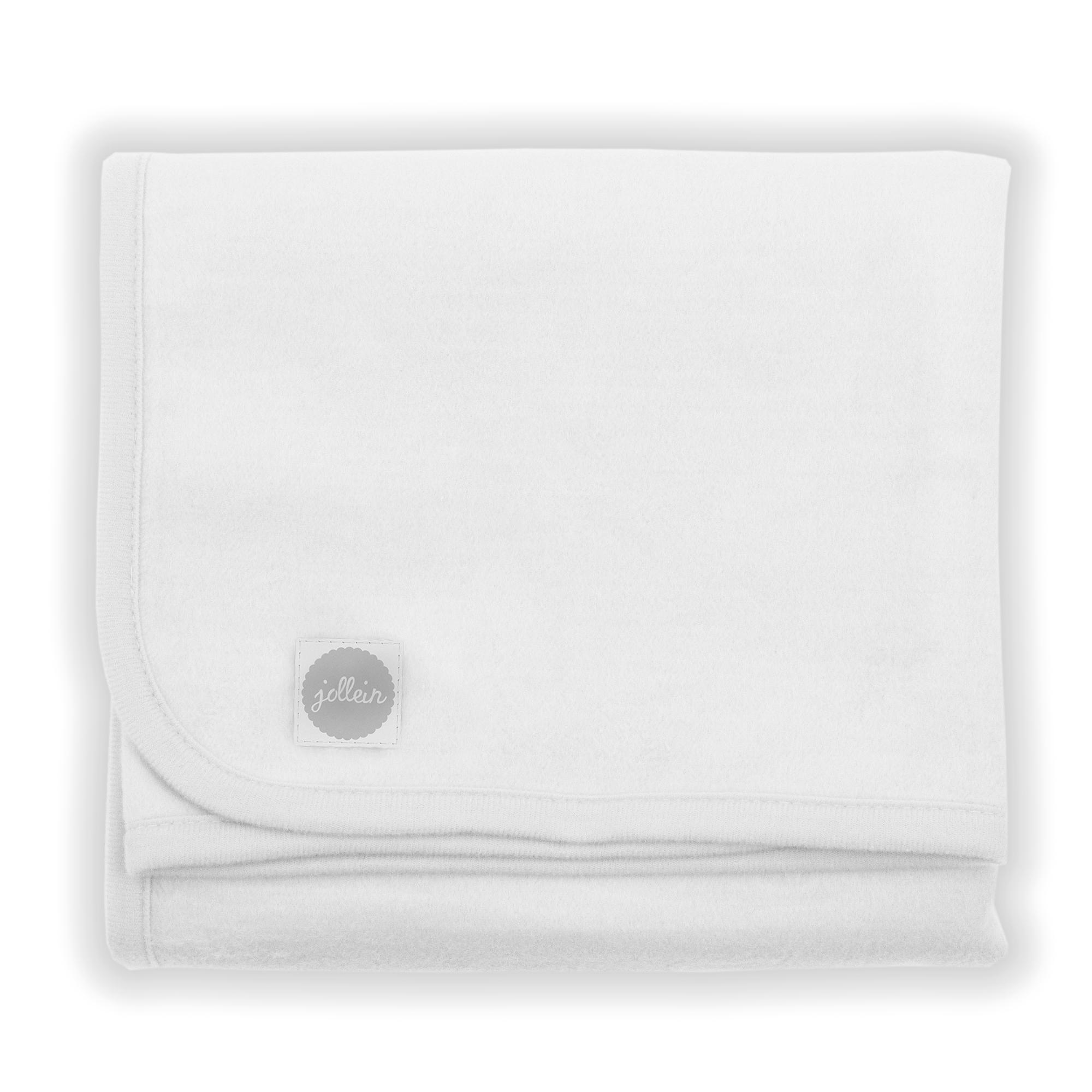 Babydecke Basic weiß (75x100 cm)