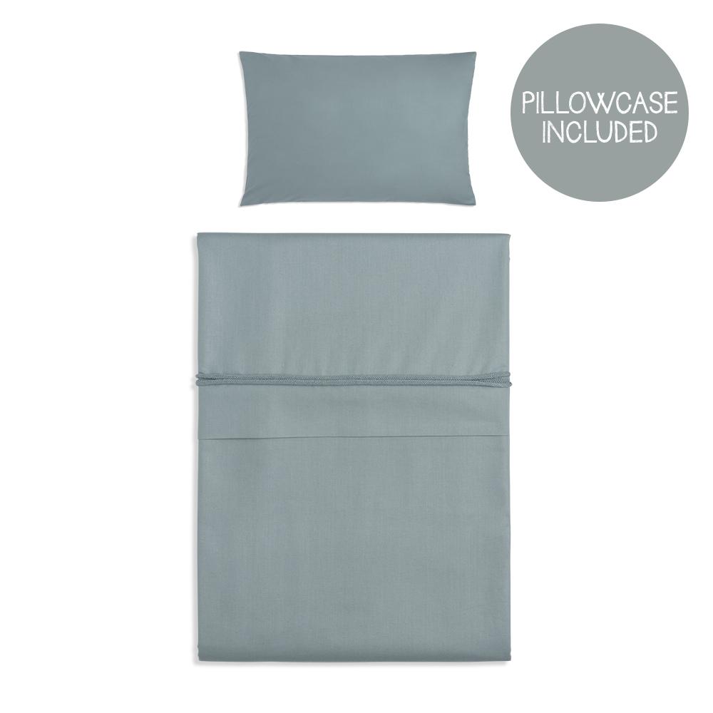Bettwäsche Soft Cotton stonegreen (Gr. 100x135 cm)