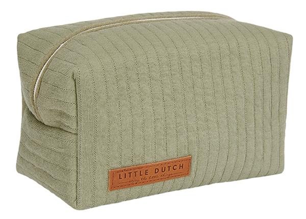 Pflegetasche Täschchen Etui für Unterwegs Pure olive grün