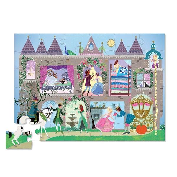 Puzzle Prinzessinnen Palast mit Figuren 36 Teile