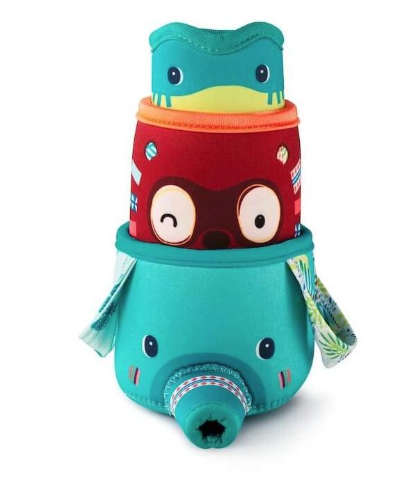 Wasserbecher Spielzeug für die Badewanne 3er Set