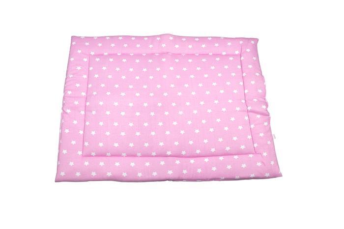 Laufgittereinlage THIJS Sterne rosa 80x100 cm