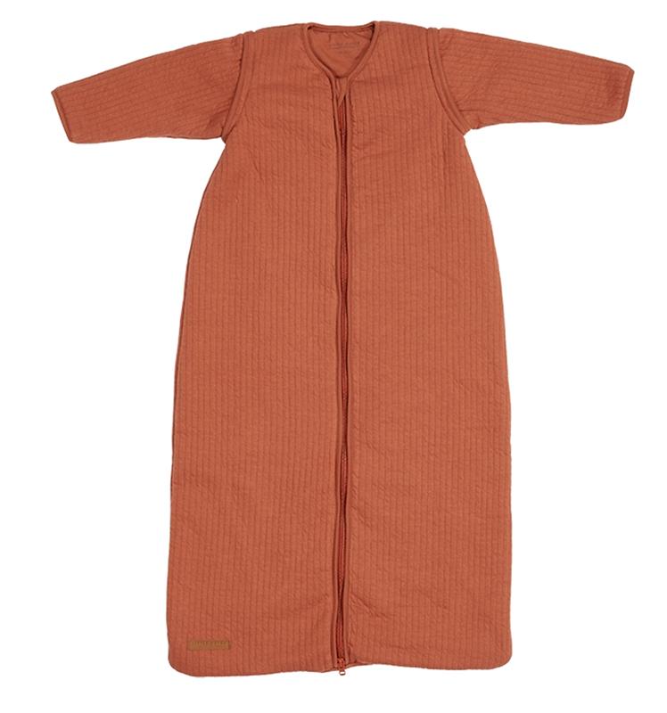 Little Dutch Schlafsack Winterschlafsack Pure rost orangerot Gr. 90 cm