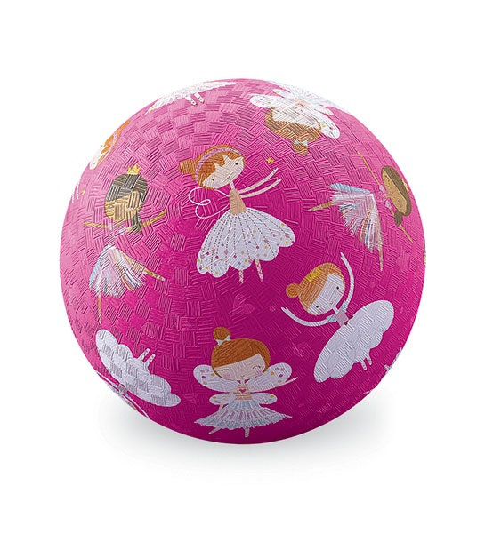Naturkautschuk Ball Feen pink Ø 13 cm