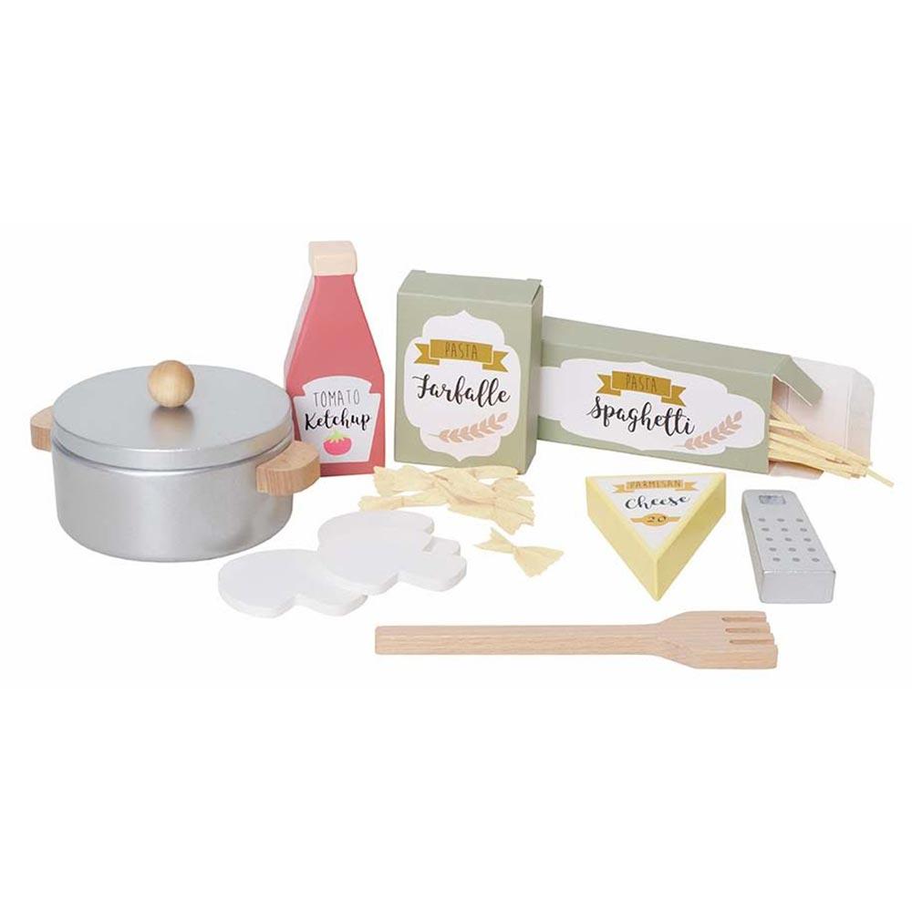 Holz Pasta Koch-Set