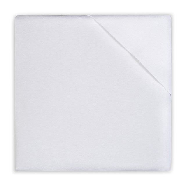 Jollein wasserabweisendes Moltontuch Matratzenschoner weiß 40 x 50 cm