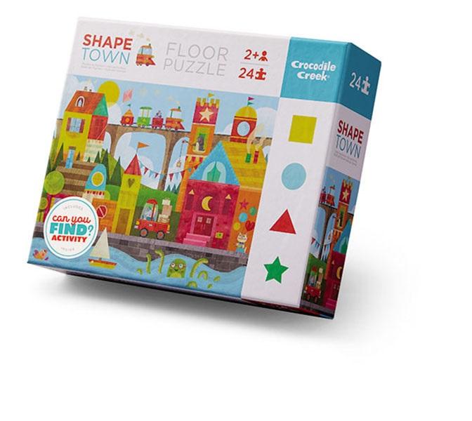 Puzzle Formen Stadt 24 Teile