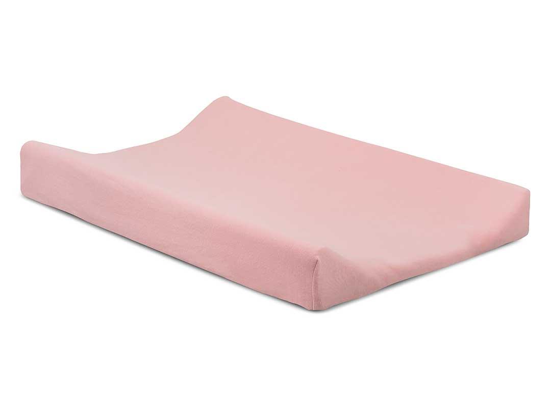 Jollein Wickelauflagenbezug Doppeljersey rosa 50 x 70 cm