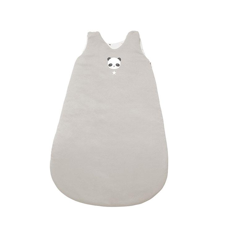 Schlafsack Panda grau Gr. 56 cm