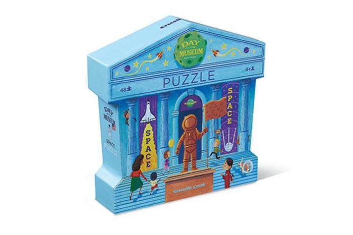 Puzzle Tag im Museum Weltraum 48 Teile