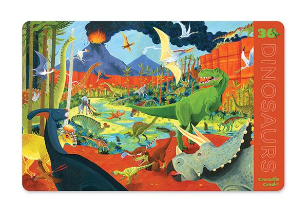 Platzset Tischset Dinosaurier 28 x 33,5 cm