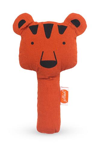 Greifling Rassel Animal Club Bär rostrot orange
