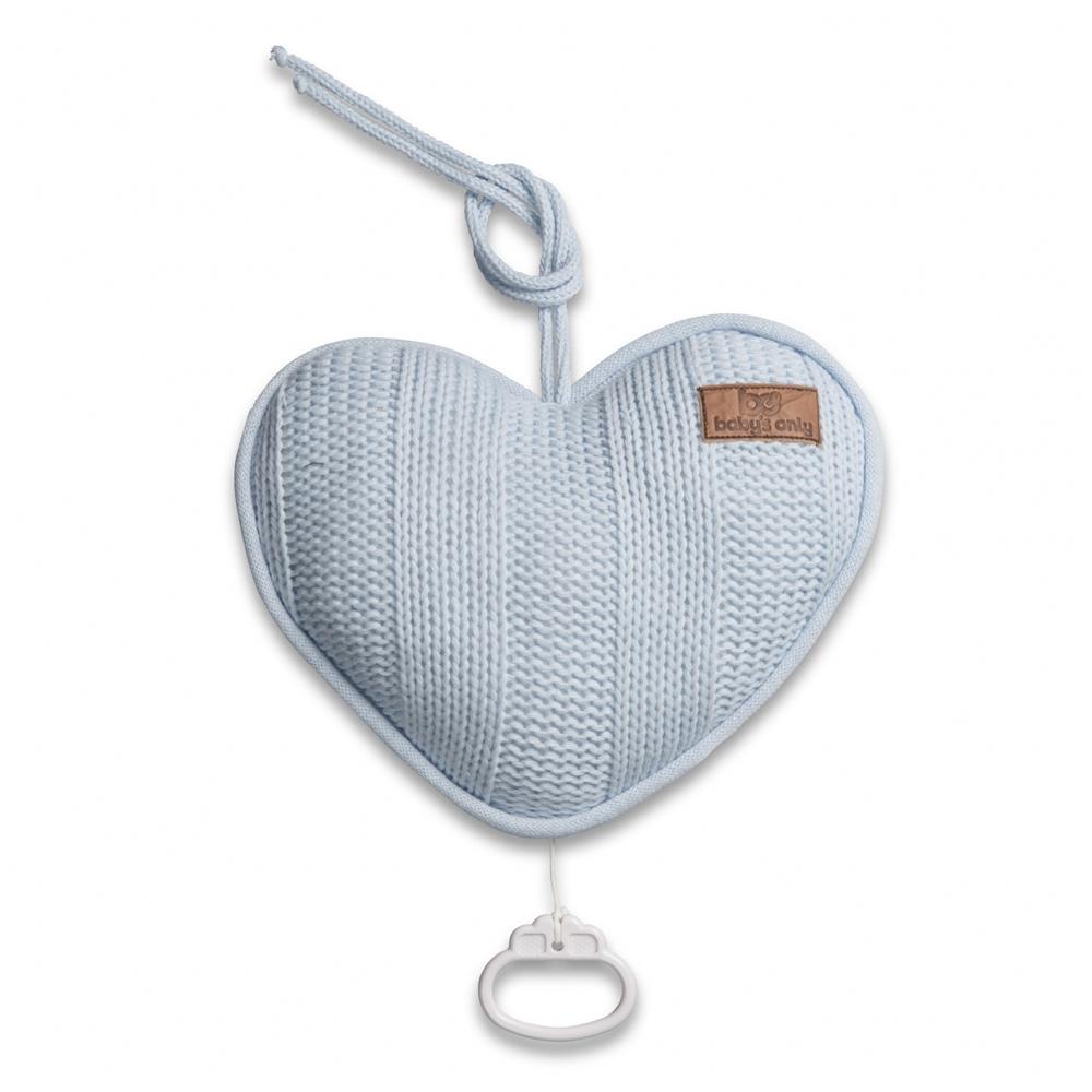 Spieluhr Herz Robust baby blau
