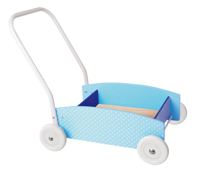 Lauflernwagen blau