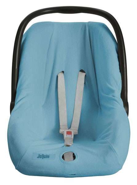 Bezug für Babyschale und Kindersitz 0 bis 9 Monate türkis