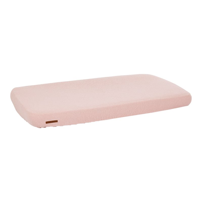 Spannbetttuch für Kinderbett Pure rosa (Gr. 70x140 cm)
