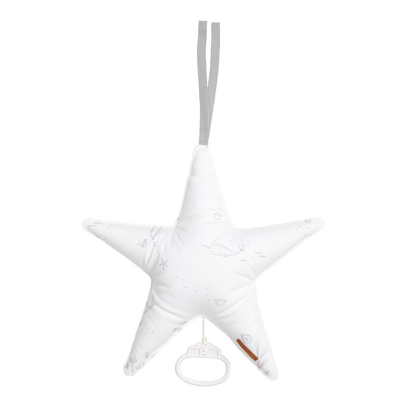 Spieluhr Stern Ocean weiß