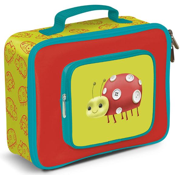 Thermotasche Lunch Bag Marienkäfer rot grün