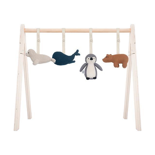 Jollein Anhänger für Spielbogen Baby Gym Polartiere