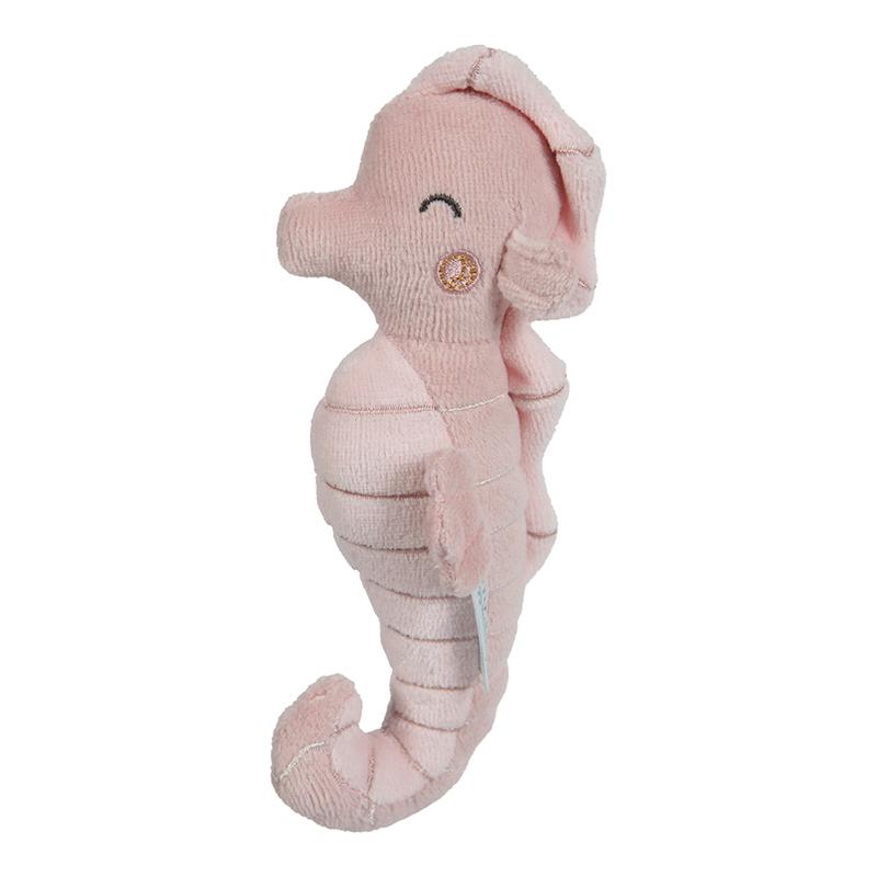 Rassel Greifling Seepferdchen Ocean rosa