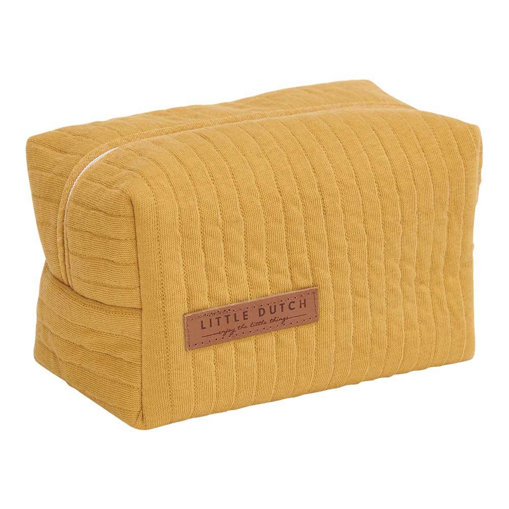 Pflegetasche Pure ocker gelb