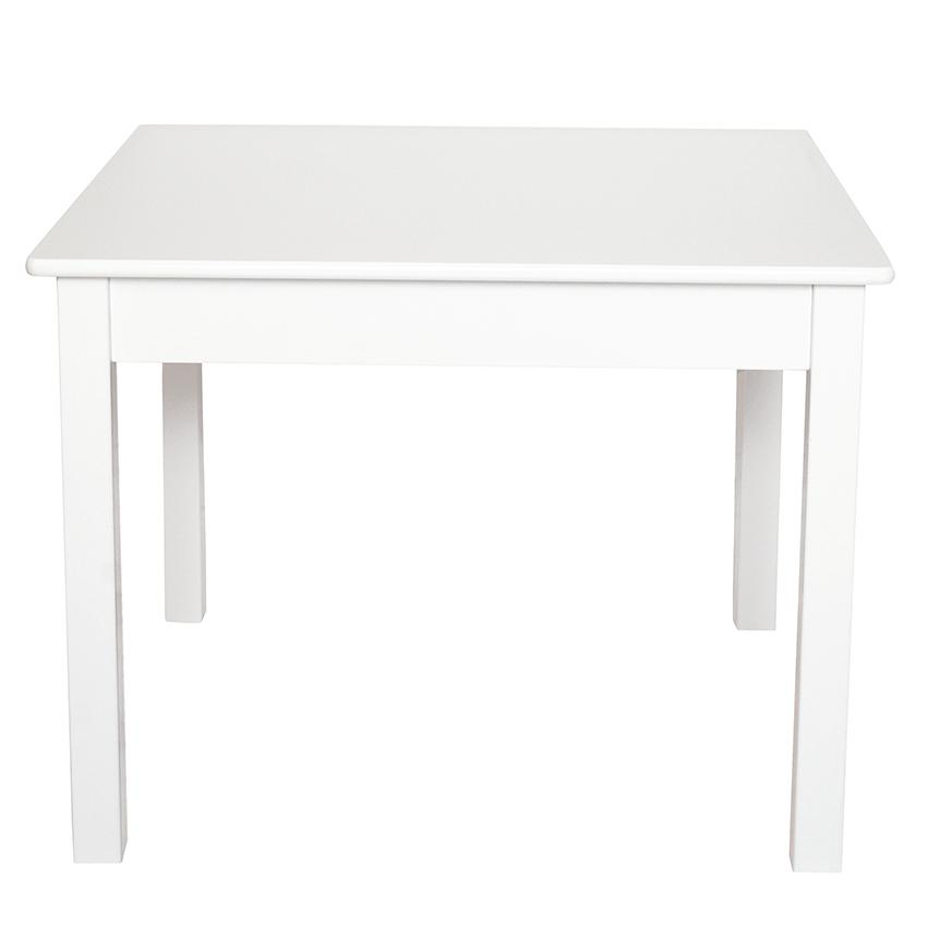 Holz Kindertisch Tisch weiß