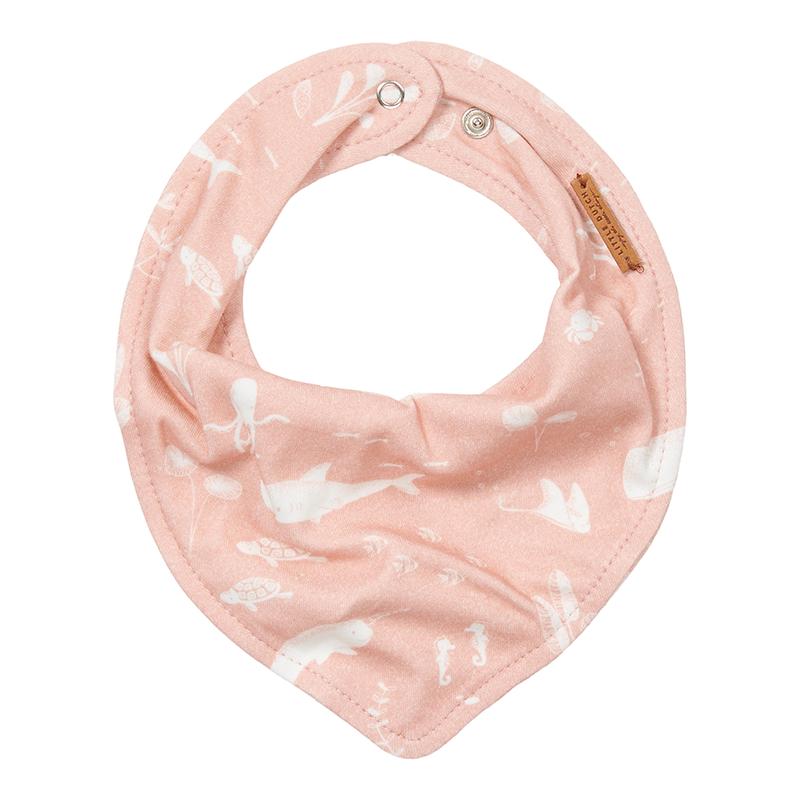 Bandana Lätzchen Halstuch Ocean rosa