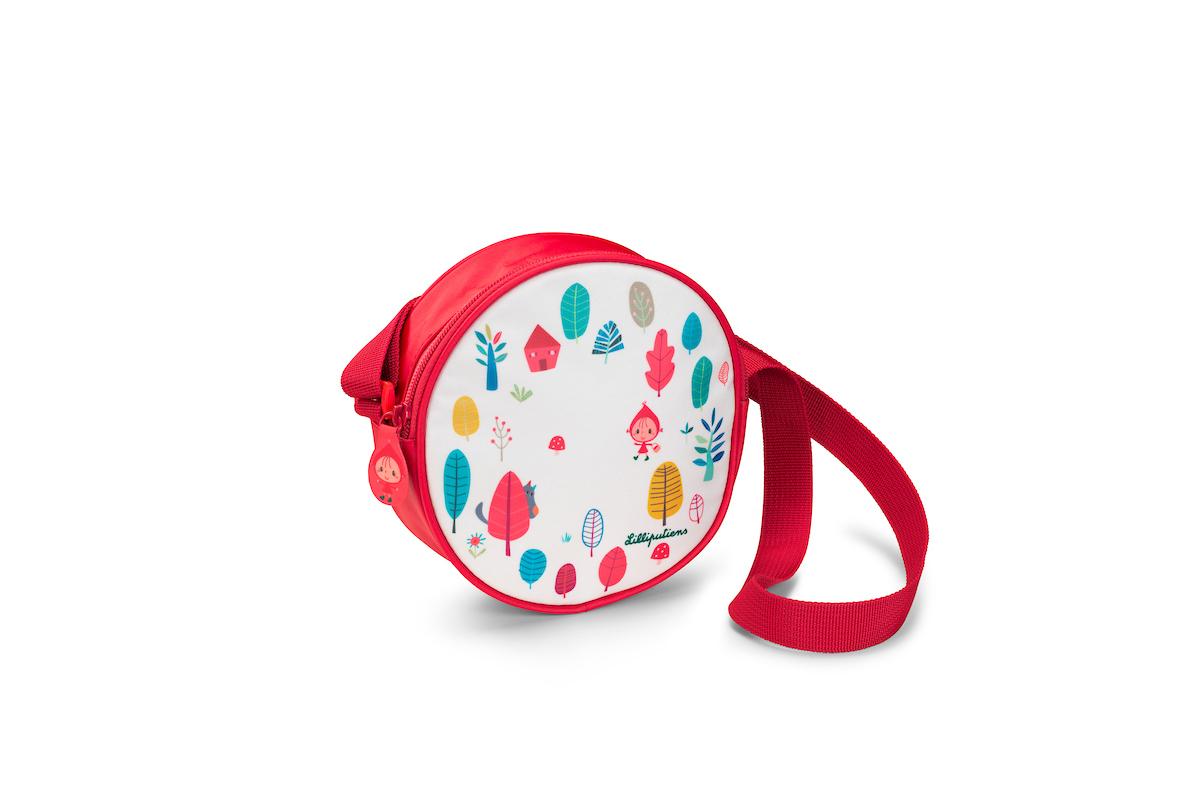 Handtasche Umhängetasche Rotkäppchen weiß rot