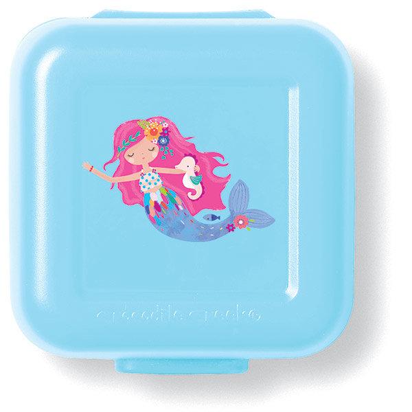 Snackbox 2er Meerjungfrau hellblau