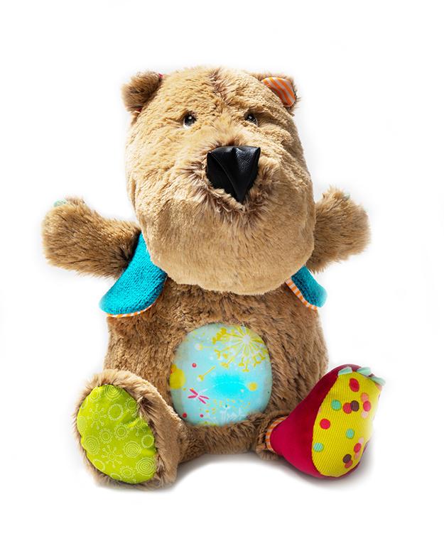 Spieluhr mit Nachtlicht César Bär