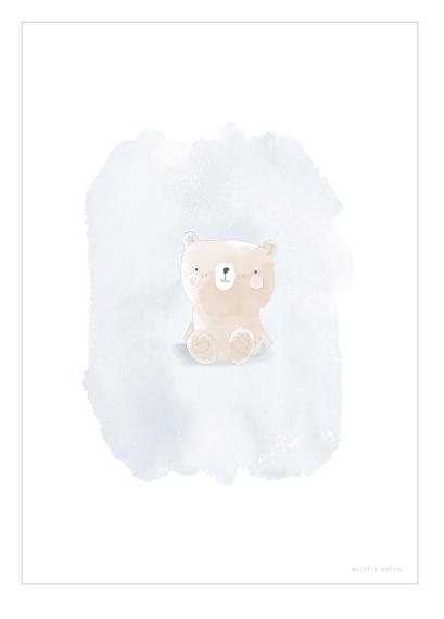 Poster A3 doppelseitig bedruckt Bär & Pinguine