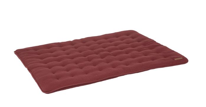 Laufgittereinlage Krabbeldecke Pure rot (Gr. 80x100 cm)