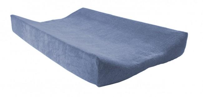 Jollein Wickelauflagenbezug Frottee blau 50x70 cm AV!!!