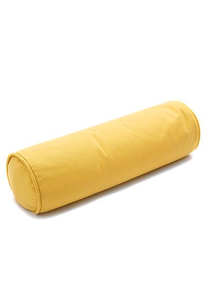 Kissenrolle gelb 60 cm ø20 cm