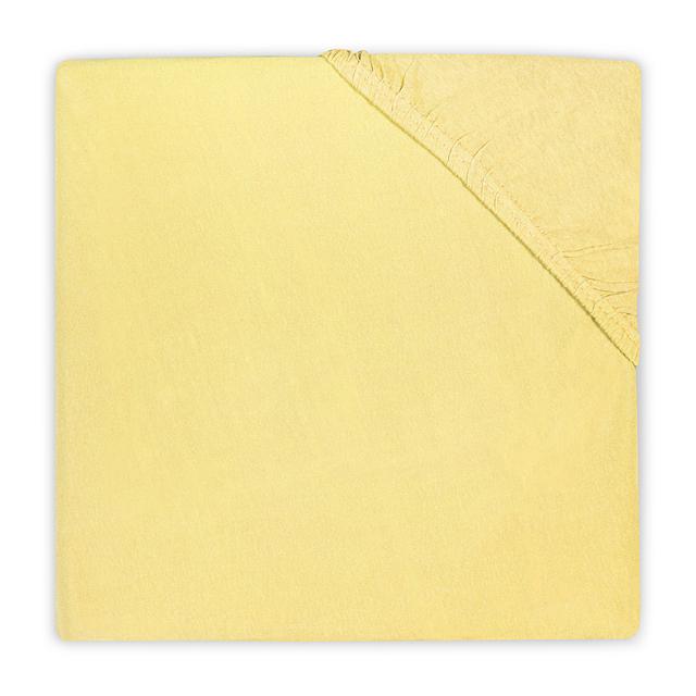 Jollein Jersey Spannlaken gelb 60 x 120 cm