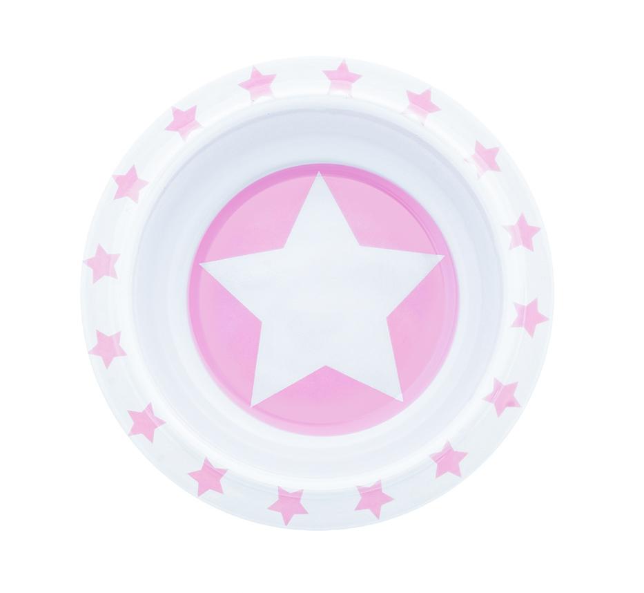 Schale Melamin STARS rosa