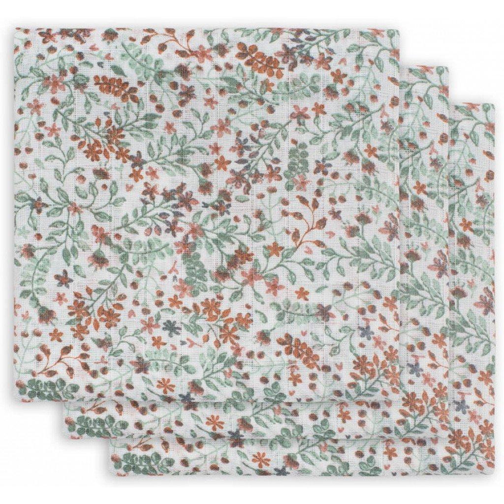 Mulltücher 3er Set Bloom (Gr. 70x70 cm)