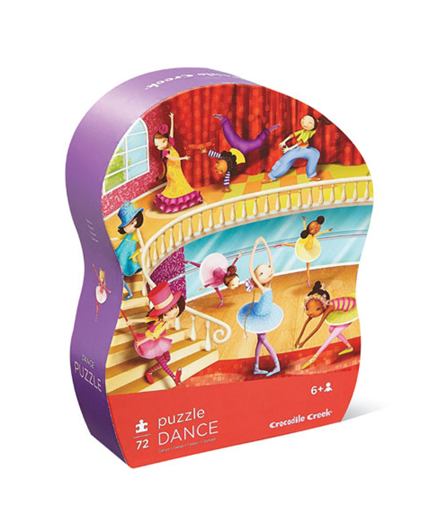 Puzzle Lass und tanzen 72 Teile