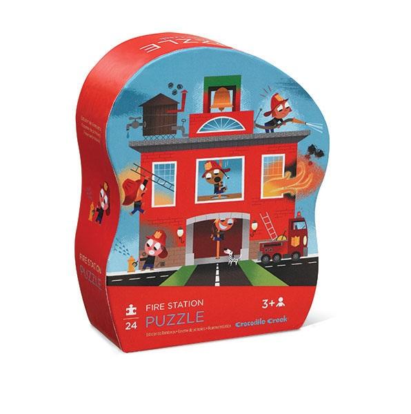 Mini Puzzle Feuerwehr 24 Teile