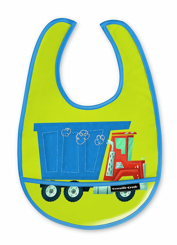 Lätzchen Müllabfuhr grün 3er Set