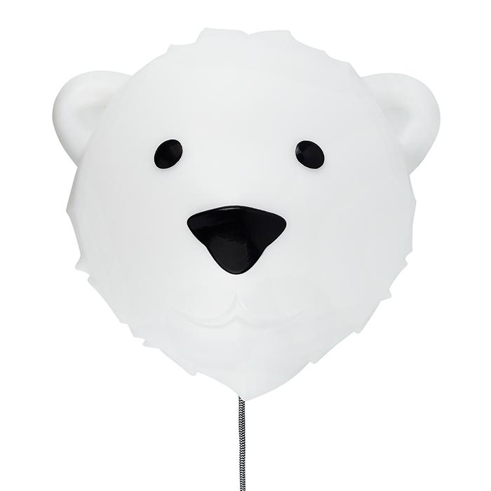 Wandlampe Eisbär Björn 36 cm