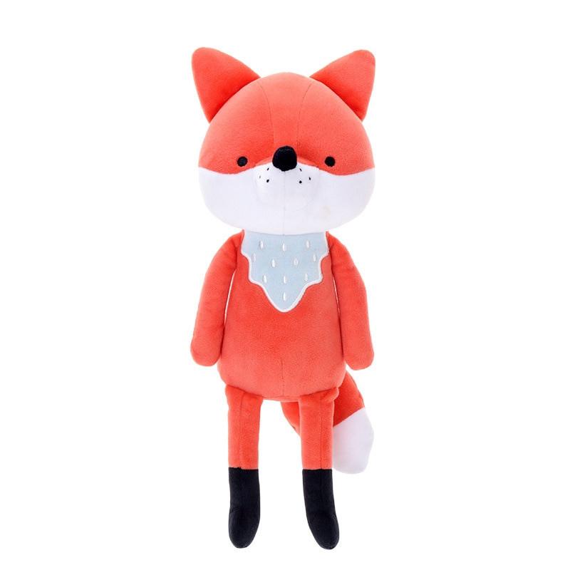 Metoo Stofftier Kuscheltier Fuchs orange 40 cm