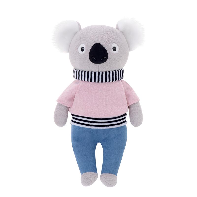 Stofftier Kuscheltier Mr. Koala Bär rosa 32 cm