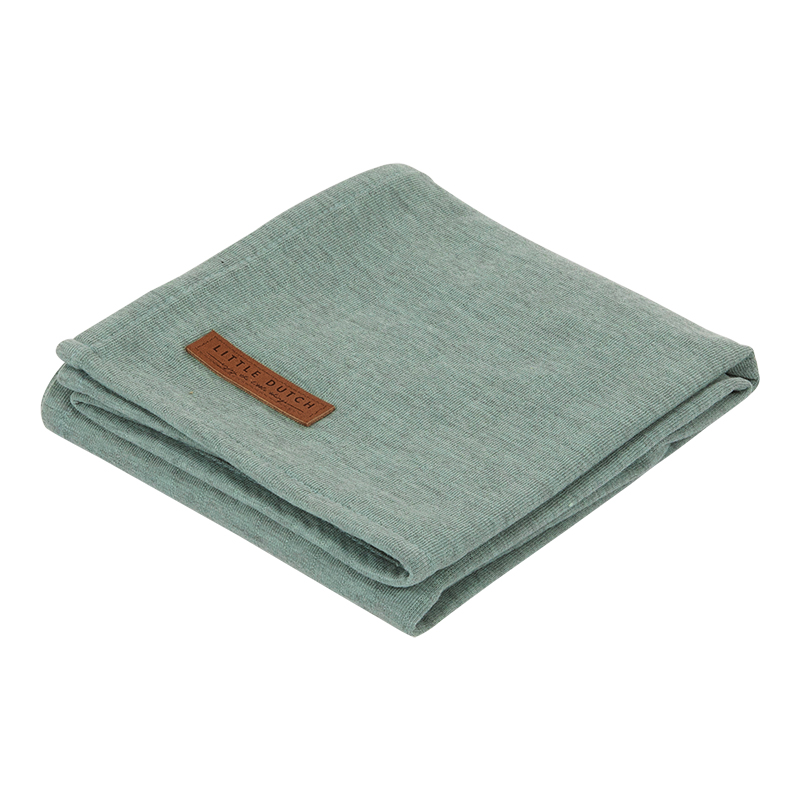 Musselin Swaddle Tuch / Pucktuch Pure mint (Gr. 120x120 cm)