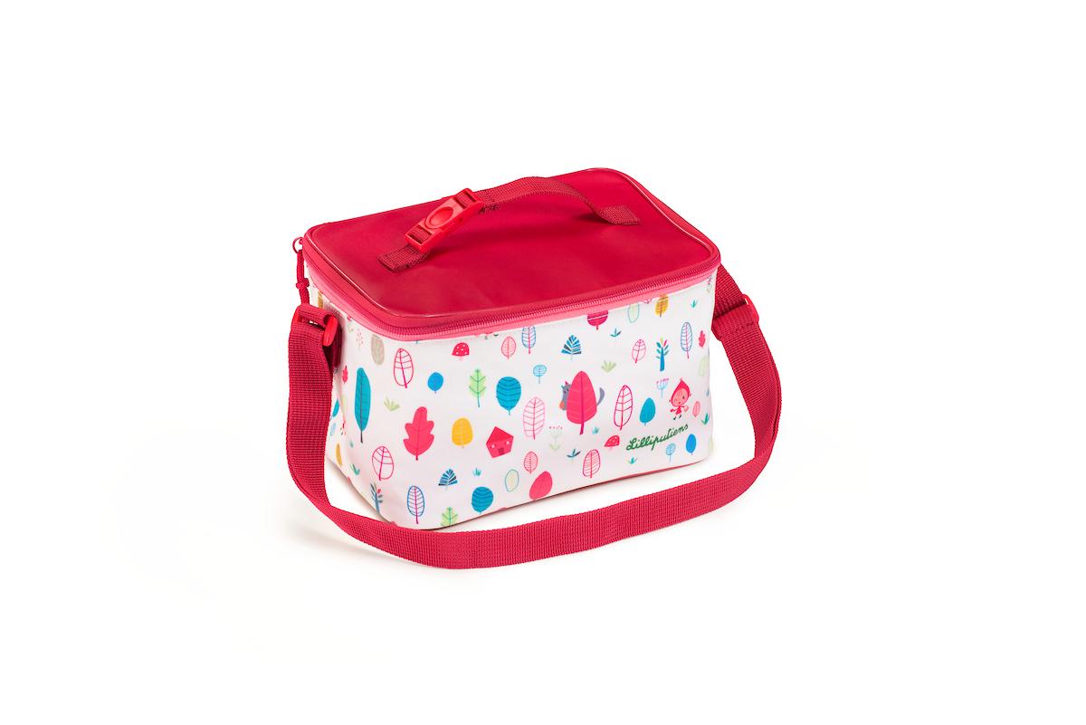 Picknicktasche Kühltasche für Kinder Rotkäppchen weiß rot
