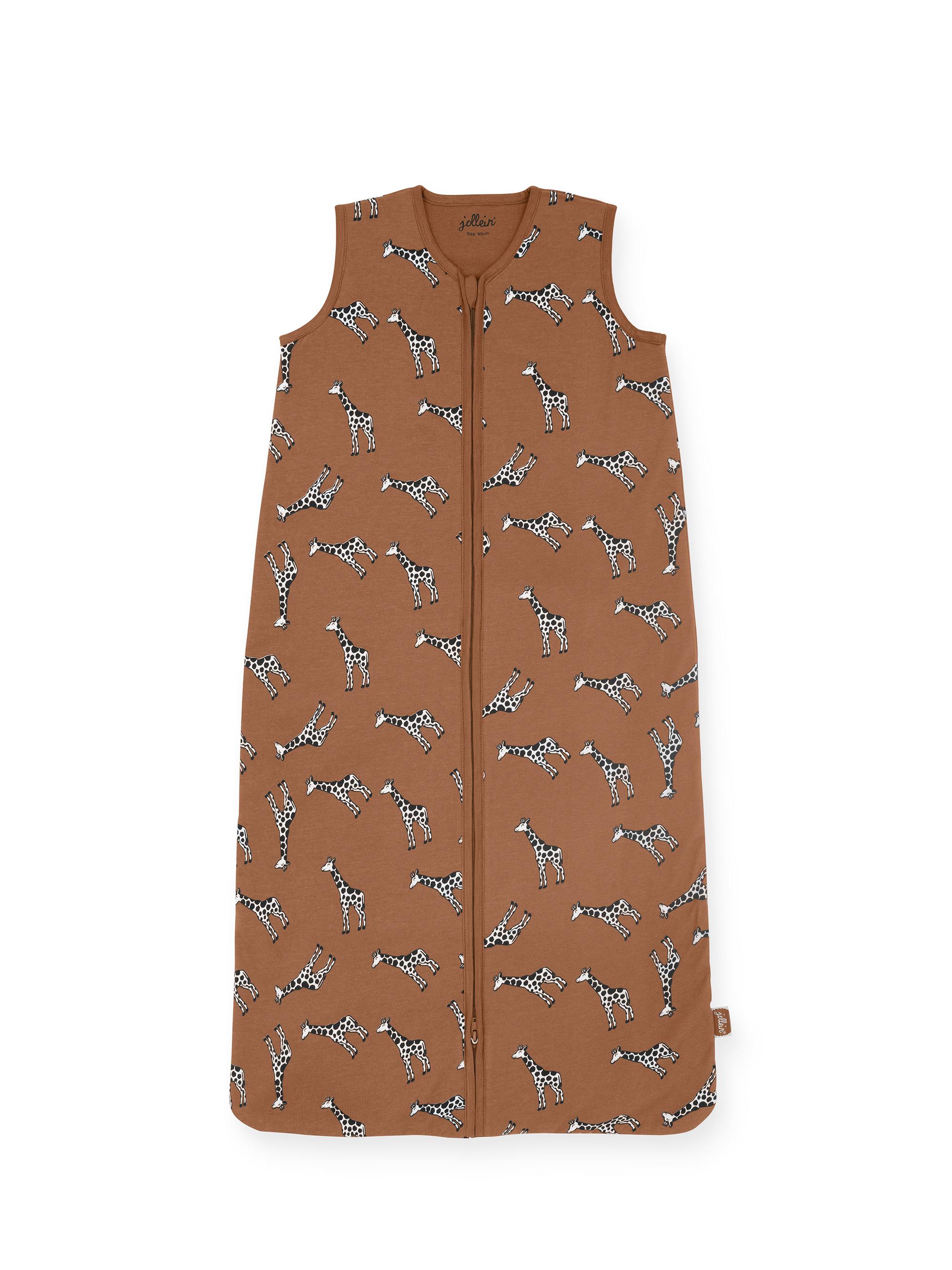 Sommerschlafsack Giraffe Karamell (Gr. 110 cm)