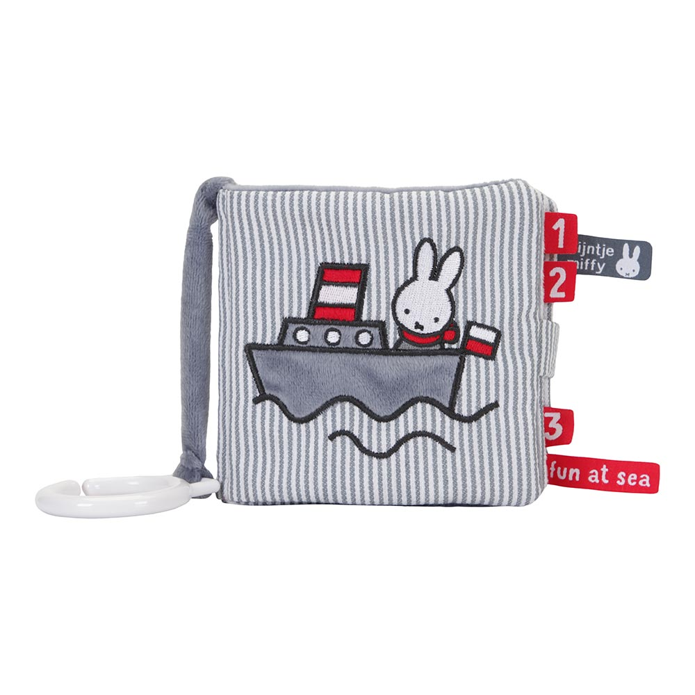 Stoffbuch Fühlbuch Miffy Fun at Sea