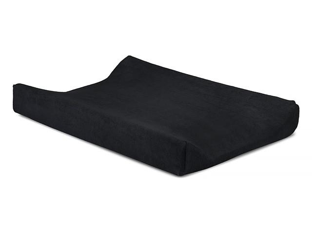 Jollein Wickelauflagenbezug Superior schwarz 50x70cm