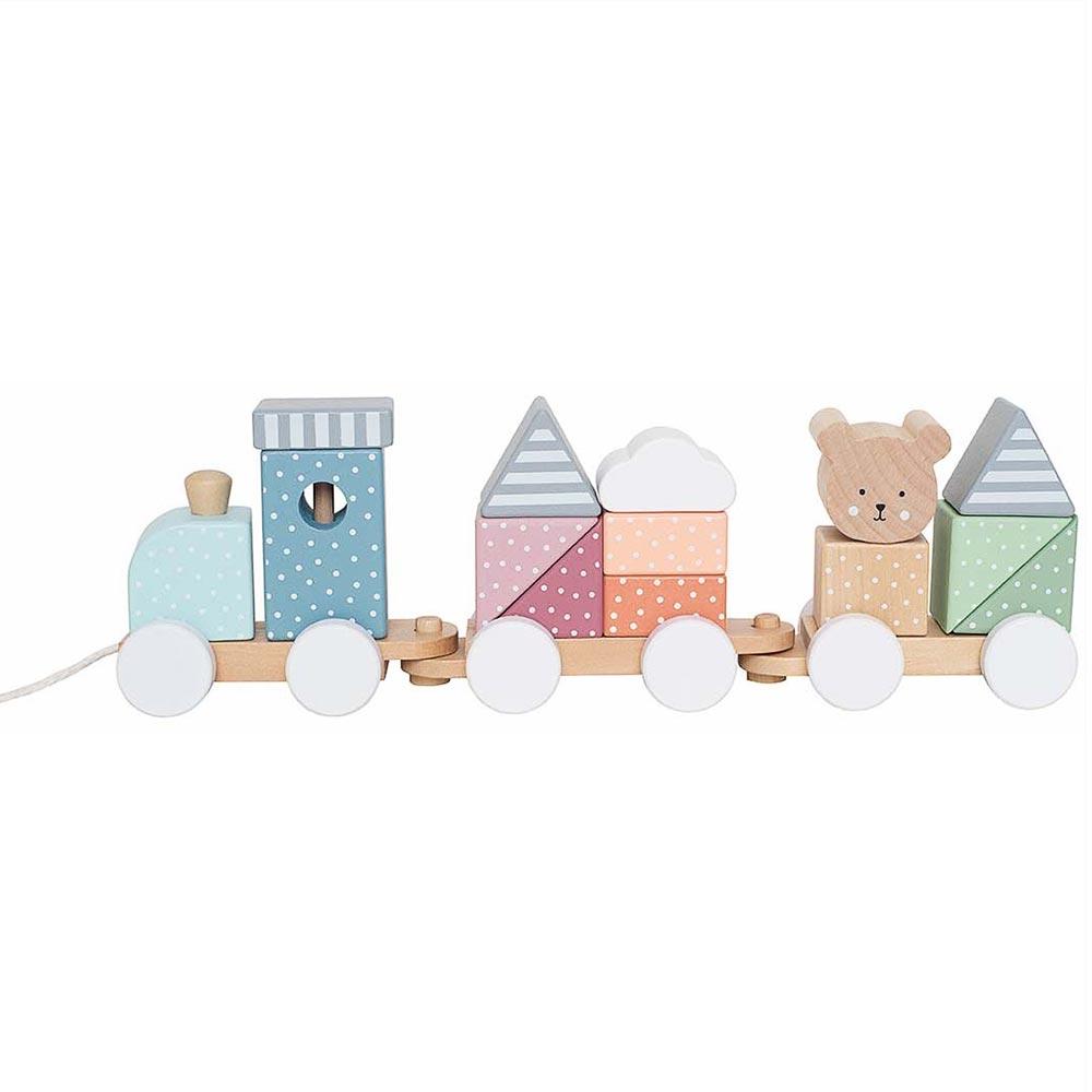 Holz Zug Eisenbahn Teddy
