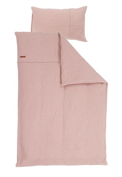 Bettwäsche Pure rosa 135x200cm + 80x80cm